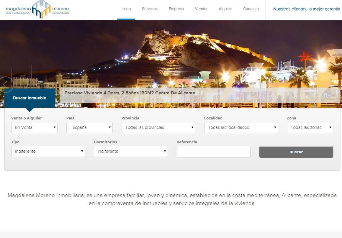 Easyti informatica for Agencia inmobiliaria